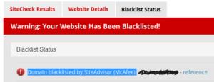 McAfee удалить сайт из базы вредоносных